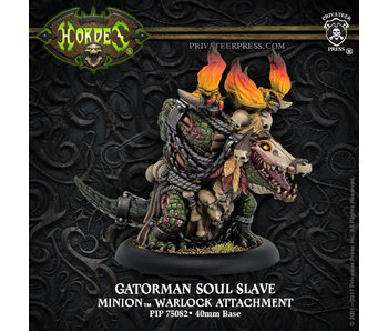 Minions Gatorman Soul Slave Warloc Attachment