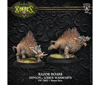 Minions Razor Boars Lt Warbeast (2)