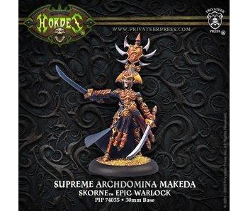Skorne Sup Archdomina Makeda Epic Warlock
