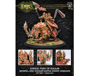 Skorne Xerxis, Fury Of Halaak Epic Warlock Cavalry