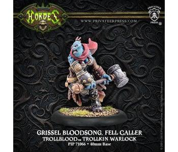 Trollbloods Grissel Bloodsong Fell Caller Warlock - PIP 71066