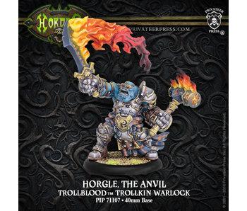 Trollbloods Horgle The Anvil Warlock