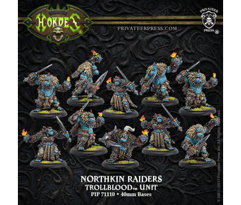 Trollbloods Northkin Raiders Unit