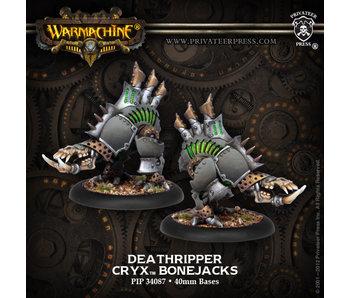 Cryx Deathripper Bonejacks Box (Plastic)