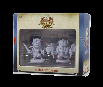 Arcadia Quest - Haldor & Brenna