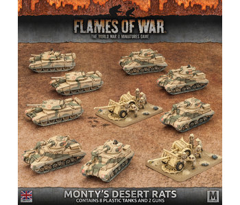 Flames of War Monty's Desert Rats