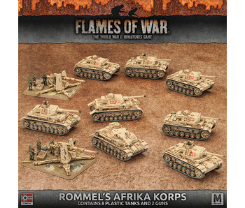 Flames of War Rommel's Of Afrika Korps