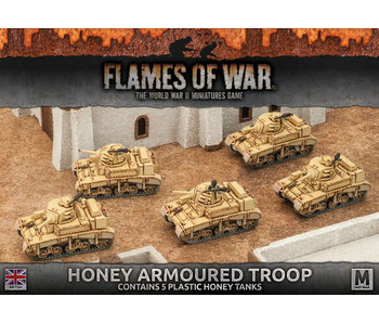 Flames of War Honey Armoured Troop