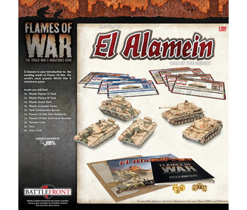 Flames of War El Alamein War In The Desert Starter Game