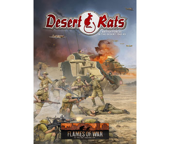 Flames of War Desert Rats British Forces in The Desert 1942-1943 Book