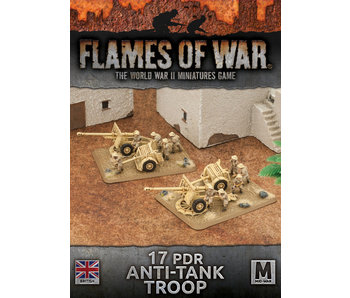 Flames of War 17 PDR Anti Tank Troop