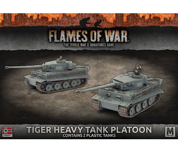 Flames of War Tiger Heavy Tank Platoon