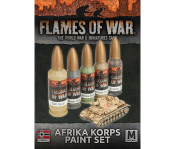 Flames of War Afrika Korps Paint Set