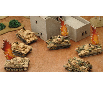 Flames of War Destroyed Markers