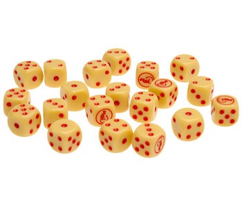 Flames of War Desert Rats Dice Set