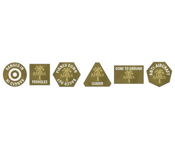 Flames of War Afrika Korps Token Set