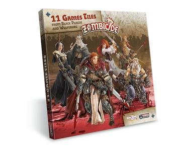 Zombicide Black Plague - Extra Tiles Pack