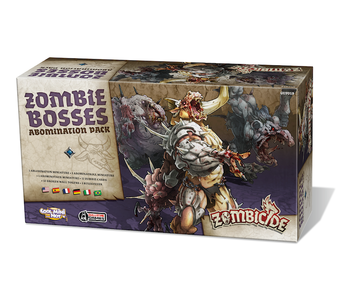 Zombicide Black Plague : Zombie Bosses - Abomination