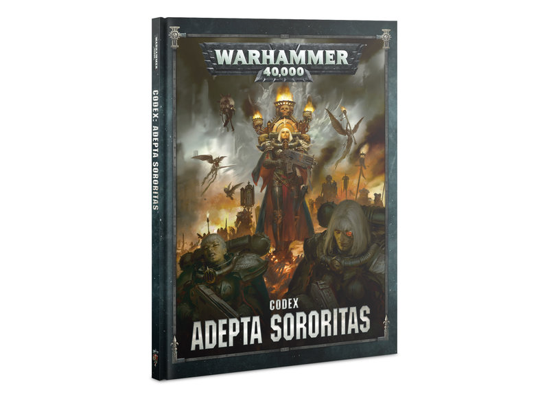 Games Workshop Codex: Adepta Sororitas (HB) (Français)