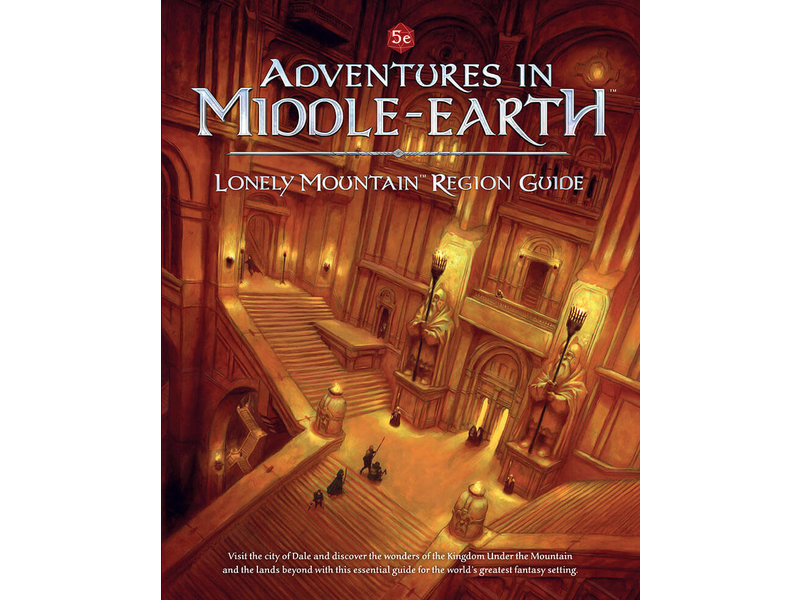 Cubicle 7 Adventures In Middle-Earth - Lonely Mountain Region
