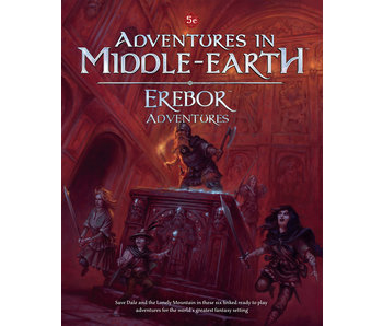 Adventures In Middle-Earth: Erebor Adventures Hardcover (ENGLISH)