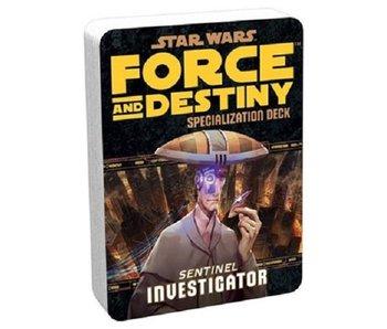 Force And Destiny - Investigator Specialization Deck