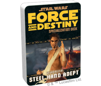 Force And Destiny - Warrior Steel Hand Adept