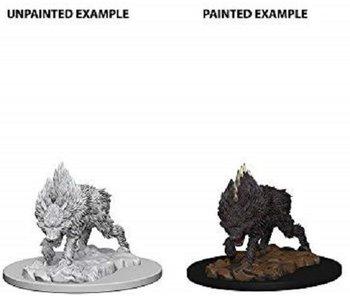 Pathfinder Unpainted Minis Wv4 Dire Wolf