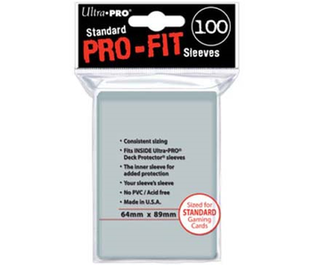 Ultra-Pro Deck-Pro Pro-Fit Sleeves (100)