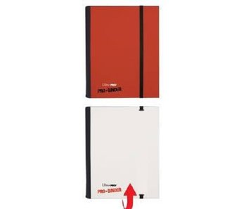 Ultra-Pro Binder Pro 4Pkt Red/White