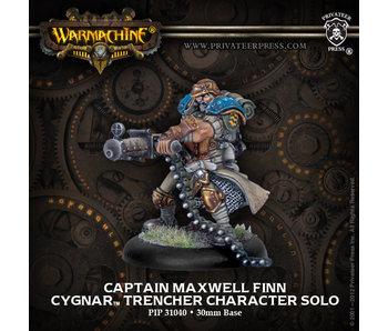 Cygnar Captain Maxwell Finn