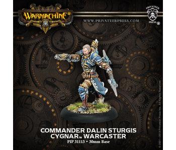 Cygnar Commander Dalin Warcaster