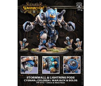 Cygnar Hurricane / Stormwall Colossal Warjack
