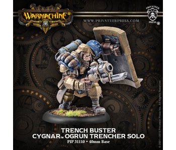 Cygnar Trench Buster Solo - PIP 31110