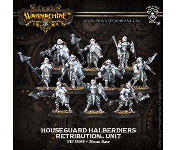 Retribution of Scyrah Houseguard Halberdiers Unit
