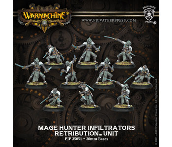 Retribution of Scyrah Mage Hunter Infiltrators Unit