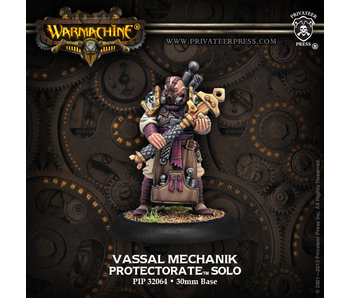 Protectorate of Menoth Vassal Mechanik Solo