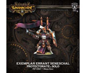 Protectorate of Menoth Exemplar Errants Seneschal Solo