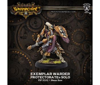 Protectorate of Menoth Exemplar Warder Solo