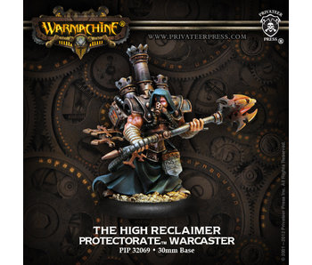 Protectorate of Menoth High Reclaimer Warcaster