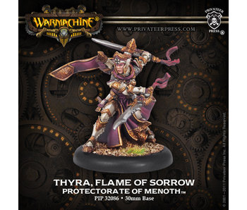 Protectorate of Menoth Thyra, Flame Of Sorrow Warcaster