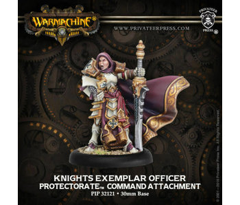 Protectorate of Menoth Knights Exemplar Officer Attatchment