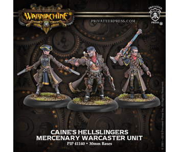 Mercenary Caines Hellslingers Warcaster Unit