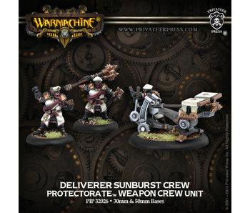 Protectorate of Menoth Deliverer Sunburst Crew
