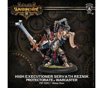 Protectorate of Menoth High Executioner Reznik Warcaster