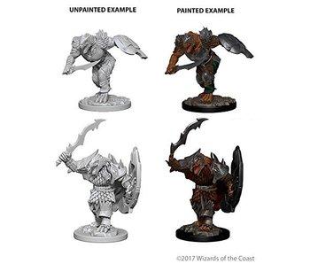 D&D Unpainted Minis Wv4 Dragonborn Male Fighter