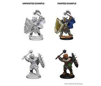 D&D Unpainted Minis Wv4 Dragonborn Male Paladin