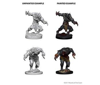 D&D Unpainted Minis Wv4 Werewolves