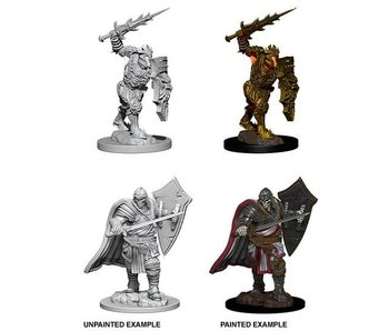 D&D Unpainted Minis Wv6 Death Knight/Helmed Horror
