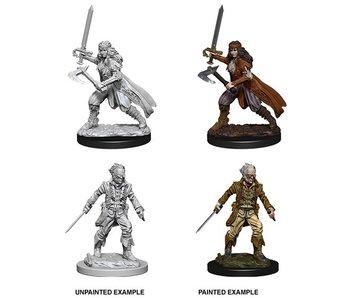 D&D Unpainted Minis Wv8 Vampire Hunters